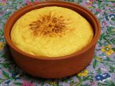 Mexican Corn And Cheese Pudding With Beaten Egg